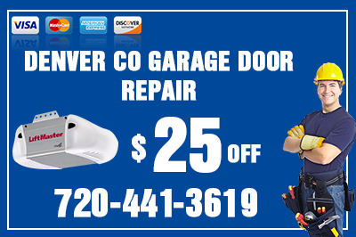Denver CO Garage Door Coupon